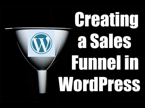 Creating a Sales Funnel in WordPress