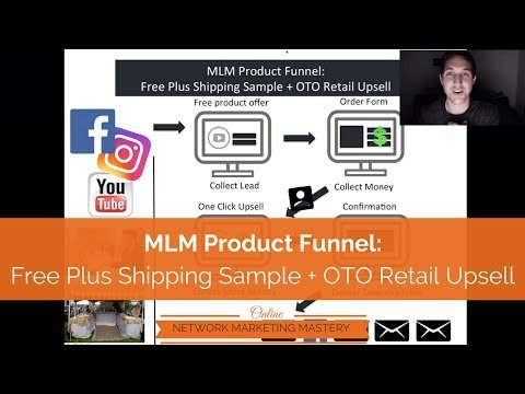 Clickfunnels MLM Product Funnel For Network Marketing – Sample Free Plus Shipping Offer