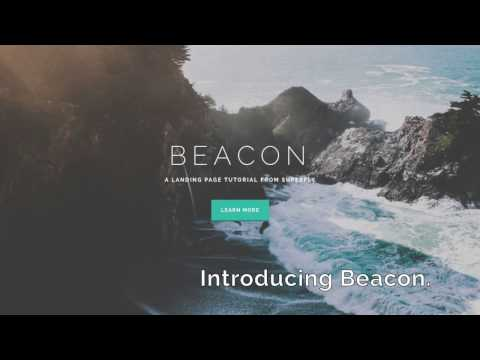 Introducing Beacon: A Landing Page & Tutorial