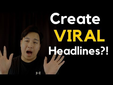 """WATCH THIS before you build your first sales funnel! – How To Craft a """"TAKE MY MONEY"""" Headline!"""