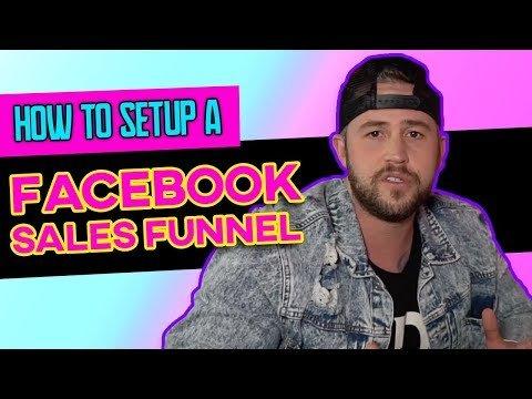 ⚙️ How To Setup A Facebook Sales Funnel   FACEBOOK ADS 2019