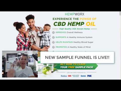 How The Hempworx Sample Program Works – With NEW Sample Sales Funnel!