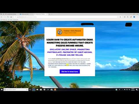 Email Marketing Funnel Training For Beginners 2018 ( How To Build A Wildly Profitable Email List )