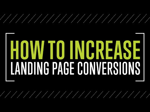 How To Increase Landing Page Conversions