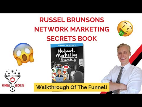 Russell Brunsons Network Marketing Secrets Book And Funnel 😱
