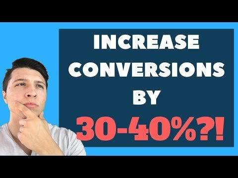 Increase Your Funnel Conversions By 30-40%! (ClickFunnels Training)