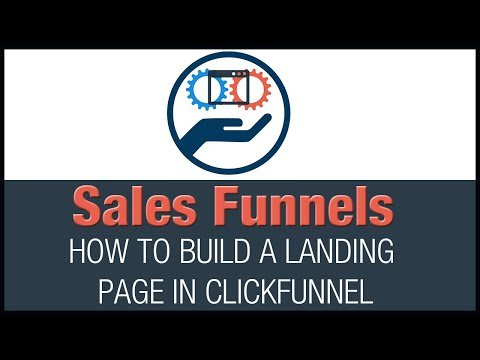 How to Build a Landing Page    Free Clickfunnel Funnel to Download