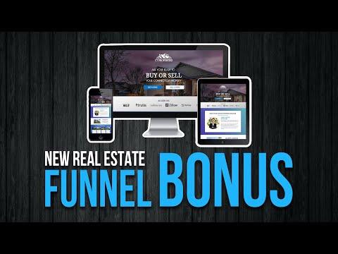 New Premium Real Estate Sales Funnel