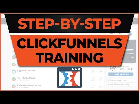 Step-By-Step ClickFunnels Training [BEGINNER FRIENDLY]