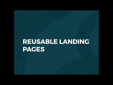 Creating Landing Pages and Layouts for Drupal 8