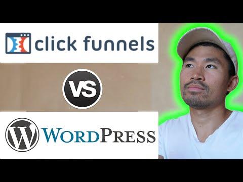 Clickfunnels VS WordPress Website: What's BETTER for Affiliate Marketing?