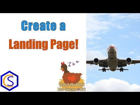 Make a Lead Collecting Landing Page in Joomla – 👀 Watch Me Work 032