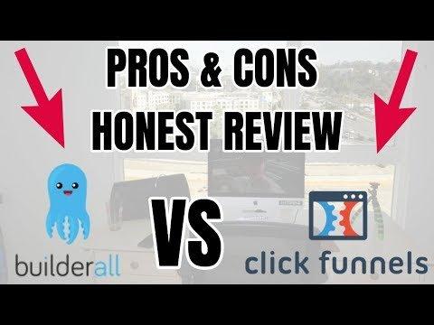 Builderall Vs Clickfunnels: PROS & CONS HONEST REVIEWS