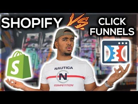 Shopify Vs. ClickFunnels For Dropshipping