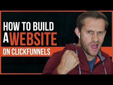 How to Build a Website in ClickFunnels – Free Share Funnel!
