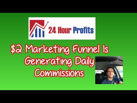 👉👉The $2 marketing funnel is generating daily commissions .