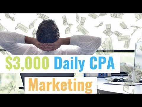 $3,000 Daily CPA Marketing + Facebook Ads + Clickfunnels Tutorial