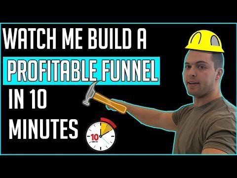 Building A Profitable Sales Funnel In 10 Minutes Using Clickfunnels [Full Tutorial]