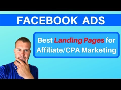 Best Landing Pages for Facebook & Instagram Ads (CPA Marketing)