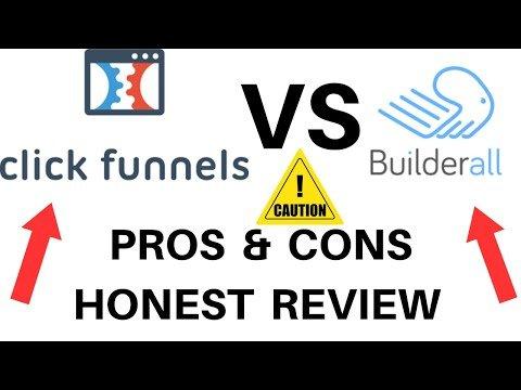 Clickfunnels Vs Builderall~2020 Review~Builderall Vs Clickfunnels PROS & CONS HONEST REVIEWS  2020✅