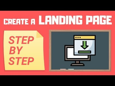 How To Create A Landing Page On GetResponse 2019 [Email Marketing Ep.4]