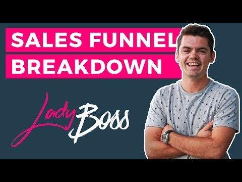 Sales Funnel Breakdown | LadyBoss Online Fitness Marketing