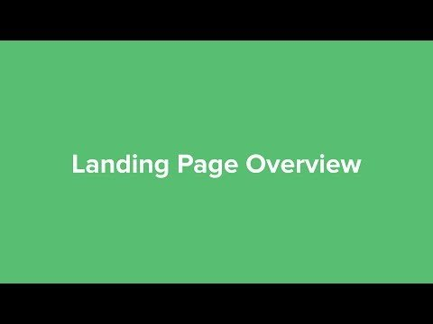 (Legacy) Landing Page Overview – MailerLite