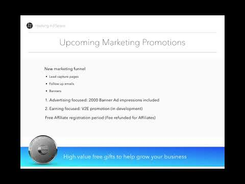 Marketing Funnel and New Promotions April 2019