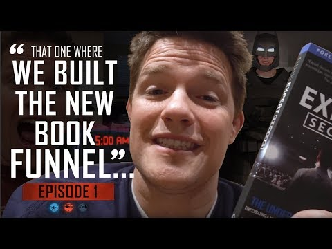 That one where we built the new book funnel… Funnel Hacker TV – Episode 01