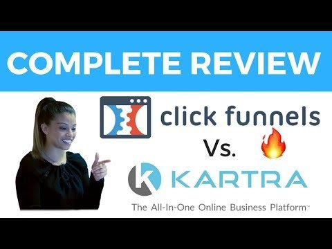 Clickfunnels vs.  Kartra | Full Review and Comparison MUST WATCH!