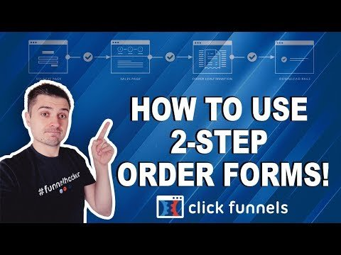 ClickFunnels Training: How To Use 2-Step Order Forms To Increase eCommerce Conversions!