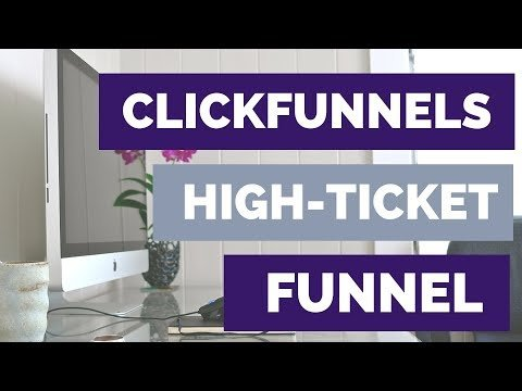 ClickFunnels Tutorial High Ticket Coaching Clients Funnel