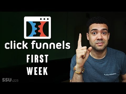 ClickFunnels Results: Weeks 1