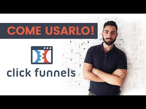 ClickFunnelss – Guarda il video Tutorial ita per il tuo Funnels