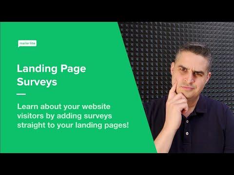 Landings PaGe Surveys