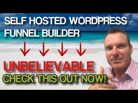 How To s A Funnels Alighting  In WordPress | FREE  AudioMKTG sales Funnels