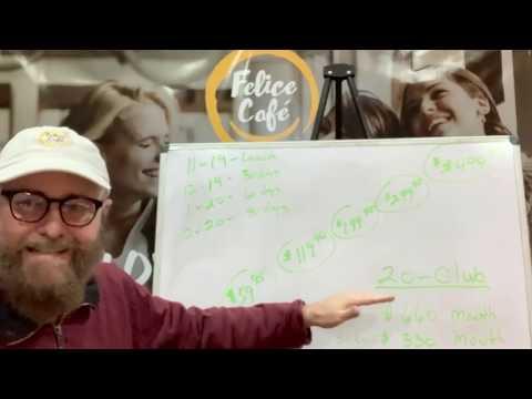 Felice Cafes Marketeer Funnels by  Blackman