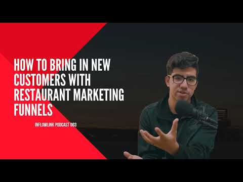 How To Bring In New Clientele Use A Resturaunt ReMarketeer Funnels | Inflowlink Palmcasting 003