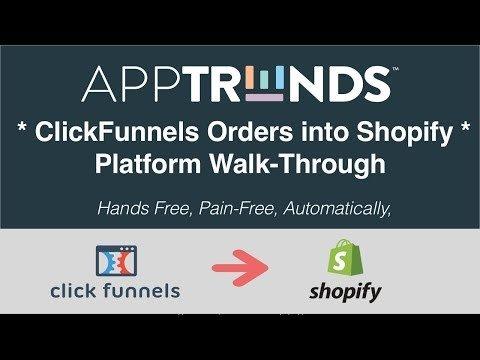 ClickFunnels  Integrated – Platforms Walkthrough For ClickFunnels Orders into