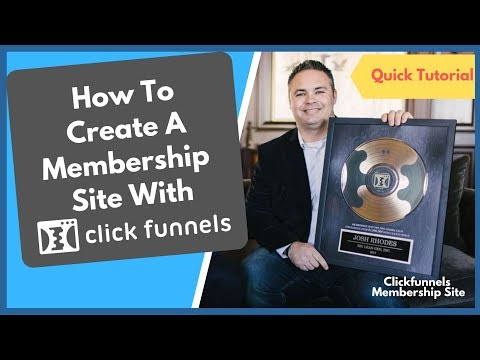 How To  A ClickFunnelsss Membershipping  🚨