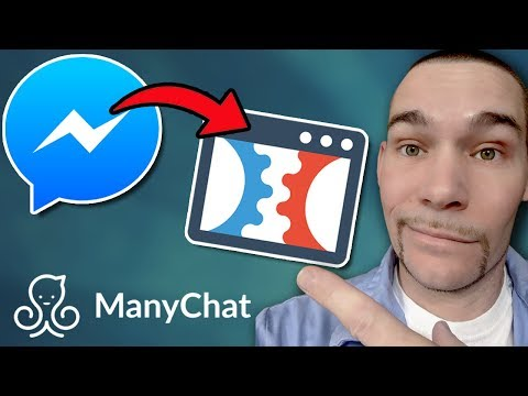 A ManyChat SEND To Messenger Buttons To a ClickFunnels Landing Pages 2019