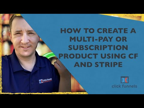 **NEW ** How To Create Multi-Pay Or Subscriber Products Use Klicks And Stripe