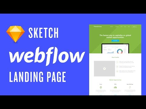 Webflow: How to  a  page Using Webflow and Sketches