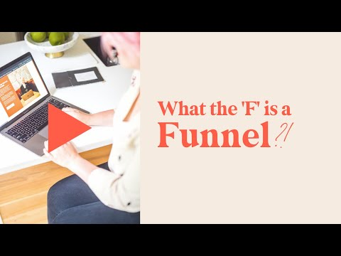 the F is an  Salesgirl Funnel?!