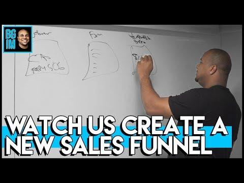 Lundi  Brainstorm: Creating A MKTG Salesmanager Funnel