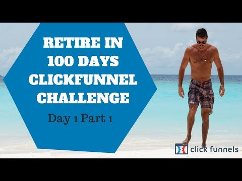 Clickfunnels Affilliate Nivrut in 100  Bootcamp Challenges! Day 1 part 1