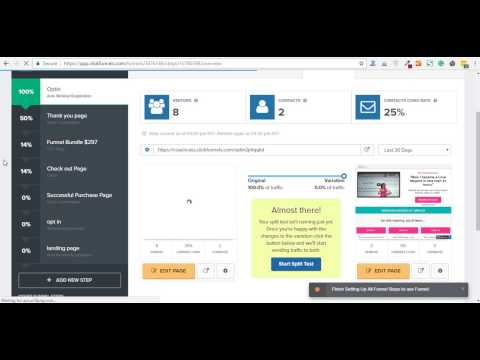 How to change URL of the page in clickfunnels