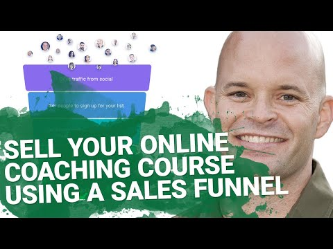 How to  Off-power LifeCoaches Course Use a Seller Funnels | GetResponse AutoFunnels