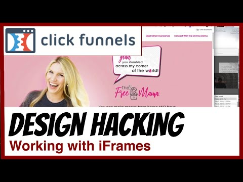 ClickFunnelss Trained – How To s  a Page  With An iFrAme