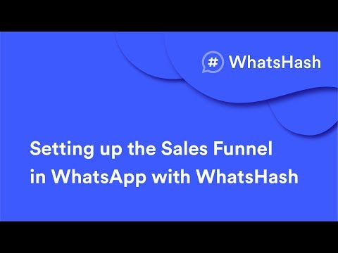 Settings up the Salesgirlwoman Funnels in  WITH WhatsHash